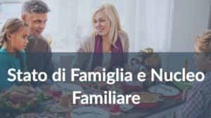 Differenza tra Stato di Famiglia e Nucleo Familiare
