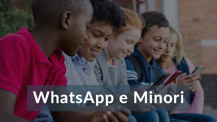 WhatsApp e minori